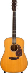 Musical Instruments:Acoustic Guitars, 1964 Martin D-18 Natural Acoustic Guitar, #193655....
