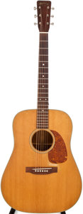 Musical Instruments:Acoustic Guitars, 1957 Martin D-18 Natural Acoustic Guitar, #155321....
