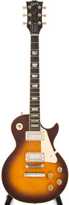 Musical Instruments:Electric Guitars, 1976 Gibson Les Paul Standard Tobacco Sunburst Electric Guitar,#00237412....