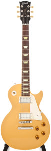 Musical Instruments:Electric Guitars, 2008 Gibson Les Paul Goldtop Electric Guitar, #673229....