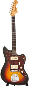 Musical Instruments:Electric Guitars, 1962 Fender Jazzmaster Black Electric Guitar, #83719....