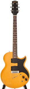 Musical Instruments:Electric Guitars, 1975 Gibson L6S Natural Electric Guitar, #967195....