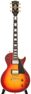 Musical Instruments:Electric Guitars, 1975 Gibson Les Paul Sunburst Electric Guitar, #205967....