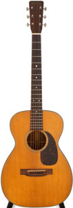 Musical Instruments:Acoustic Guitars, 1958 Martin O-18 Natural Acoustic Guitar, #163810....