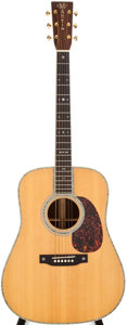 Musical Instruments:Acoustic Guitars, 2005 Martin D-42 Natural Acoustic Guitar, #1059438....