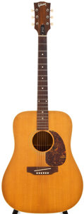 Musical Instruments:Acoustic Guitars, 1968 Gibson J50 Natural Acoustic Guitar, #919868....
