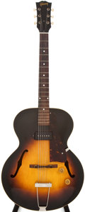 Musical Instruments:Acoustic Guitars, 1959 Gibson 125 Sunburst Archtop Electric Guitar, #S6941....
