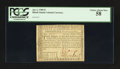 Colonial Notes:Rhode Island, Fully Signed Serial Number 123 Rhode Island July 2, 1780 $7 PCGSChoice About New 58.. ...