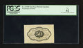 Fractional Currency:First Issue, Fr. 1313SP 50¢ First Issue Medium Margin Back PCGS New 62.. ...