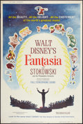 "Movie Posters:Animation, Fantasia (Buena Vista, R-1963). Poster (40"" X 60""). Animation.. ..."