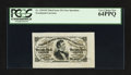 Fractional Currency:Third Issue, Fr. 1291SP 25¢ Third Issue Wide Margin Face PCGS Very Choice New 64PPQ.. ...