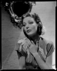 "Loretta Young (1930s). Eastman Kodak Safety Negative (8"" X 10""). Miscellaneous"
