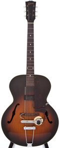 Musical Instruments:Acoustic Guitars, 1948 Gibson L-48 Sunburst Archtop Acoustic Guitar, #N/A....