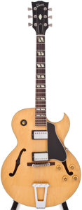 Musical Instruments:Acoustic Guitars, 1978 Gibson ES-175D Natural Archtop Electric Guitar, #71248017....