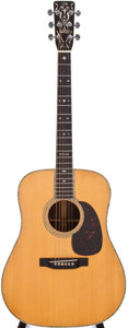 Musical Instruments:Acoustic Guitars, 1952 Martin D-28 Natural Acoustic Guitar, #123259....