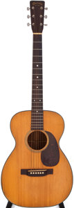 Musical Instruments:Acoustic Guitars, 1953 Martin 0-18 Natural Acoustic Guitar, #31025....