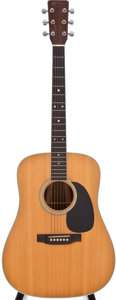 Musical Instruments:Acoustic Guitars, 1988 Martin D-35 Natural Acoustic Guitar, #481876....