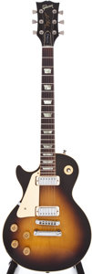 Musical Instruments:Electric Guitars, 1979 Les Paul Gibson Deluxe Left Handed Tobacco Sunburst ElectricGuitar, #71429075....