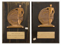 Movie/TV Memorabilia:Memorabilia, Two 'Exhibitor Laurel' Awards, 1960s.... (Total: 2 Items)