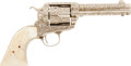 Military & Patriotic:Indian Wars, Another Exquisite, Documented, Cole Agee Engraved Colt SAA, #333394, Mfg. 1916....