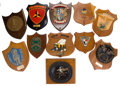 Movie/TV Memorabilia:Memorabilia, A Collection of Ship Plaques from the 'Wild Goose,' 1960s-1970s....(Total: 11 )