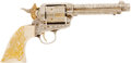 Military & Patriotic:Indian Wars, Magnificent Fully Engraved Colt SAA Revolver, Caliber .38-40,Documented as the Work of Master Colt Engraver Cole Agee C. 1950...