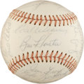 Autographs:Baseballs, 1973-74 Baltimore Orioles Team Signed Baseball....