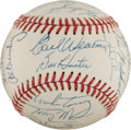 Autographs:Baseballs, 1975 Baltimore Orioles Team Signed Baseball....