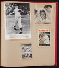 Baseball Collectibles:Others, 1960's Mickey Mantle Scrapbooks Lot of 5....