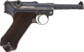 Military & Patriotic:WWI, DWM 1916 Dated Luger Semi-Automatic Pistol....