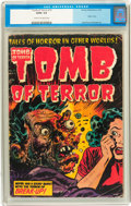 Golden Age (1938-1955):Horror, Tomb of Terror #15 (Harvey, 1954) CGC GD/VG 3.0 Cream to off-whitepages....