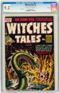 Golden Age (1938-1955):Horror, Witches Tales #17 File Copy (Harvey, 1953) CGC NM- 9.2 Cream tooff-white pages....