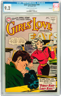 Silver Age (1956-1969):Romance, Girls' Love Stories #104 Savannah pedigree (DC, 1964) CGC NM- 9.2Cream to off-white pages....