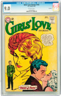 Silver Age (1956-1969):Romance, Girls' Love Stories #103 Savannah pedigree (DC, 1964) CGC VF/NM 9.0Off-white pages....