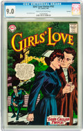 Silver Age (1956-1969):Romance, Girls' Love Stories #102 Savannah pedigree (DC, 1964) CGC VF/NM 9.0Cream to off-white pages....