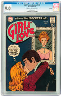 Silver Age (1956-1969):Romance, Girls' Love Stories #144 Savannah pedigree (DC, 1969) CGC VF/NM 9.0Cream to off-white pages....