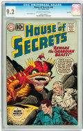 Silver Age (1956-1969):Science Fiction, House of Secrets #48 Savannah pedigree (DC, 1961) CGC NM- 9.2Off-white to white pages....