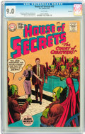Silver Age (1956-1969):Science Fiction, House of Secrets #43 Savannah pedigree (DC, 1961) CGC VF/NM 9.0White pages....