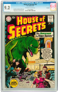 Silver Age (1956-1969):Science Fiction, House of Secrets #41 Savannah pedigree (DC, 1961) CGC NM- 9.2 Off-white to white pages....