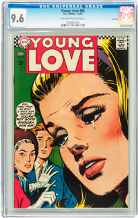 Young Love #62 Savannah pedigree (DC, 1967) CGC NM+ 9.6 Off-white to white pages
