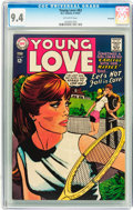 Silver Age (1956-1969):Romance, Young Love #63 Savannah pedigree (DC, 1967) CGC NM 9.4 Off-white towhite pages....