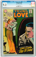 Silver Age (1956-1969):Romance, Young Love #70 Savannah pedigree (DC, 1968) CGC NM- 9.2 Cream tooff-white pages....