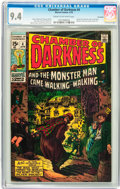 Bronze Age (1970-1979):Horror, Chamber of Darkness #4 Savannah pedigree (Marvel, 1970) CGC NM 9.4Cream to off-white pages....