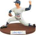 Baseball Collectibles:Others, Sandy Koufax Signed Salvino Statue....