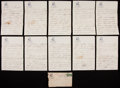Baseball Collectibles:Others, 1912 Zack Wheat Handwritten, Signed Letter....