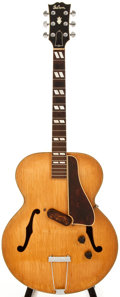 Musical Instruments:Electric Guitars, 1941 Gibson ES-300 Natural Archtop Electric Guitar, #97050....