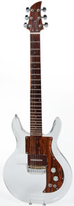 Musical Instruments:Electric Guitars, 1969/1970 Ampeg Dan Armstrong Clear Lucite Electric Solid BodyGuitar, #A851D....