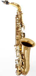Musical Instruments:Horns & Wind Instruments, 1972 Buffet Super Dynaction Alto Brass Saxophone, #18781....