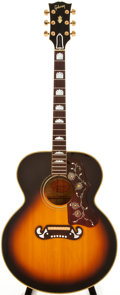 Musical Instruments:Acoustic Guitars, 1968 Gibson J-200 Sunburst Acoustic Guitar, #896381....