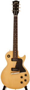 Musical Instruments:Electric Guitars, 1956 Gibson Les Paul Special TV Yellow Electric Guitar, #614569....